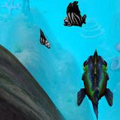 Игра Рыба ест рыбу и растет