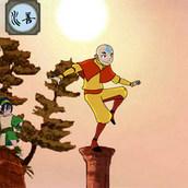 Игра Тренировка аватара Аанга