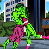 Игра Поцелуй зелёного гиганта