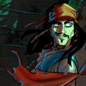 Игра Пират Джек Воробей — миссия на Летучем Голландце
