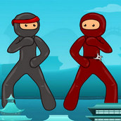 Игра Неистовые драки ниндзя