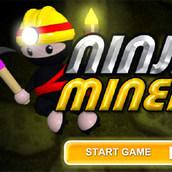 Игра Ниндзя в алмазной шахте
