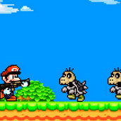 Игра Марио стрелялка