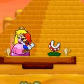 Поцелуй Марио и принцессы Пич