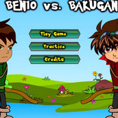 Игра Бакуган против Бена 10: Стрельба из лука