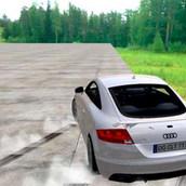 Дрифт на Audi TT RS