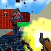 Игра Вторжение гангстеров в мир Майнкрафта