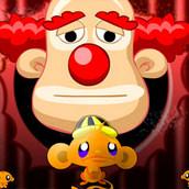 Игра Счастливая обезьянка устраивает погром