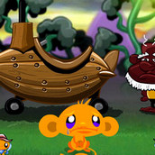 Игра Счастливая обезьянка: Волшебные сказки 2