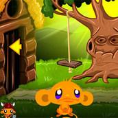 Игра Счастливая обезьянка: Волшебные сказки