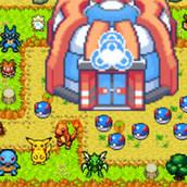 Игра Защитные башни с покемонами