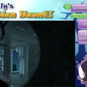 Покемон Гастли прячется в темноте
