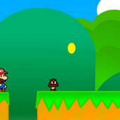 Игра Марио в бумажном мире