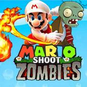 Игра Марио: Стрелялка с зомби