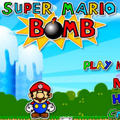 Игра Супер Марио Бомбермен