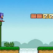 Игра Соник в мире Марио