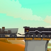 Игра Доставка грузов поездом