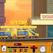 Игра На поезде – по городу!