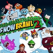 Игра Всемультяшная битва снежками