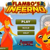 Игра Опасное приключение Флэймбо