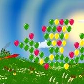 Игра Обезьянки против шариков 2
