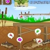 Игра Готовим жаренную рыбку
