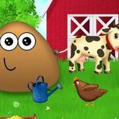 Игра Поу на ферме