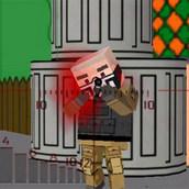 Игра Мир квадратноголовых зомби