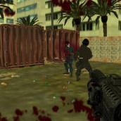 Игра Стрелялка: Полиция против наёмников
