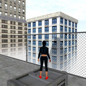 3D Паркур на крышах