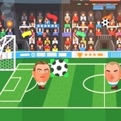Игра Чемпионат по футболу головами 2016