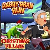 Игра Бешеная бабка 9: спешит на Рождество