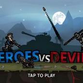 Игра Герои против дьявола