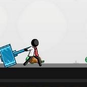 Игра Стикмен: полет черепах