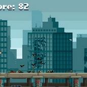 Игра Убежать от кровожадных зомби