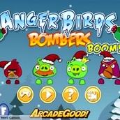 Игра Бомберы: Angry Birds взрывают мир