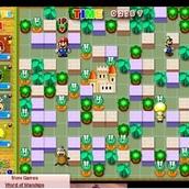 Игра Бомбы в руках Супер Марио