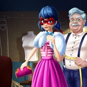 Игра Леди баг и супер кот: пестрый гардероб