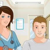 Больница: Медицинское обследование уха