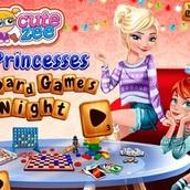 Игра Вечерние посиделки принцесс