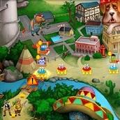 Игра 3 в ряд: остров сокровищ
