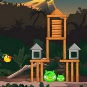 Игра Птички против хрюшек