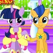 Игра Поцелуи маленьких пони