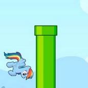 Летающий малыш пони