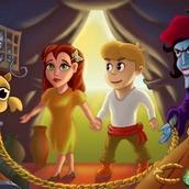 Игра Джо и Момо на двоих: в заколдованном лесу