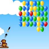 Игра Обезьянки против шариков 1