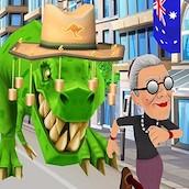 Игра Бешеная бабка 12: Австралия