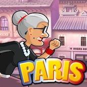 Игра Бешеная Бабка 13: Париж