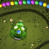 Игра Лягушка и заколдованные шары