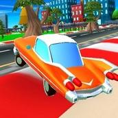 Игра Разрушитель на мультяшном автомобиле